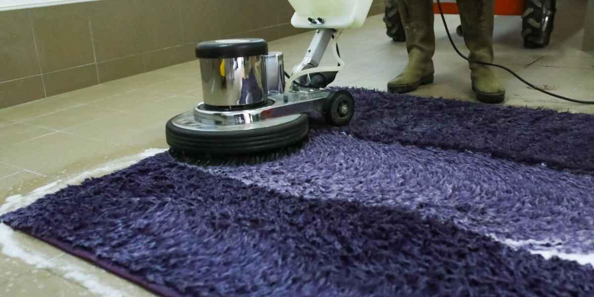 מכונת מברשת לניקוי שטיחים