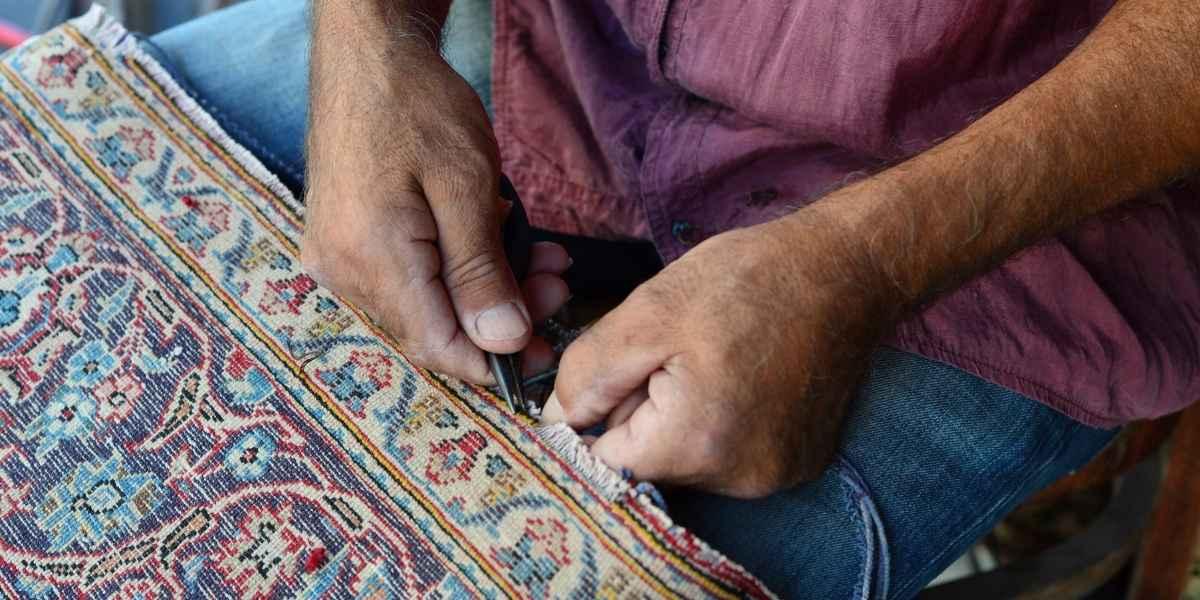תיקון ציציות בשטיח