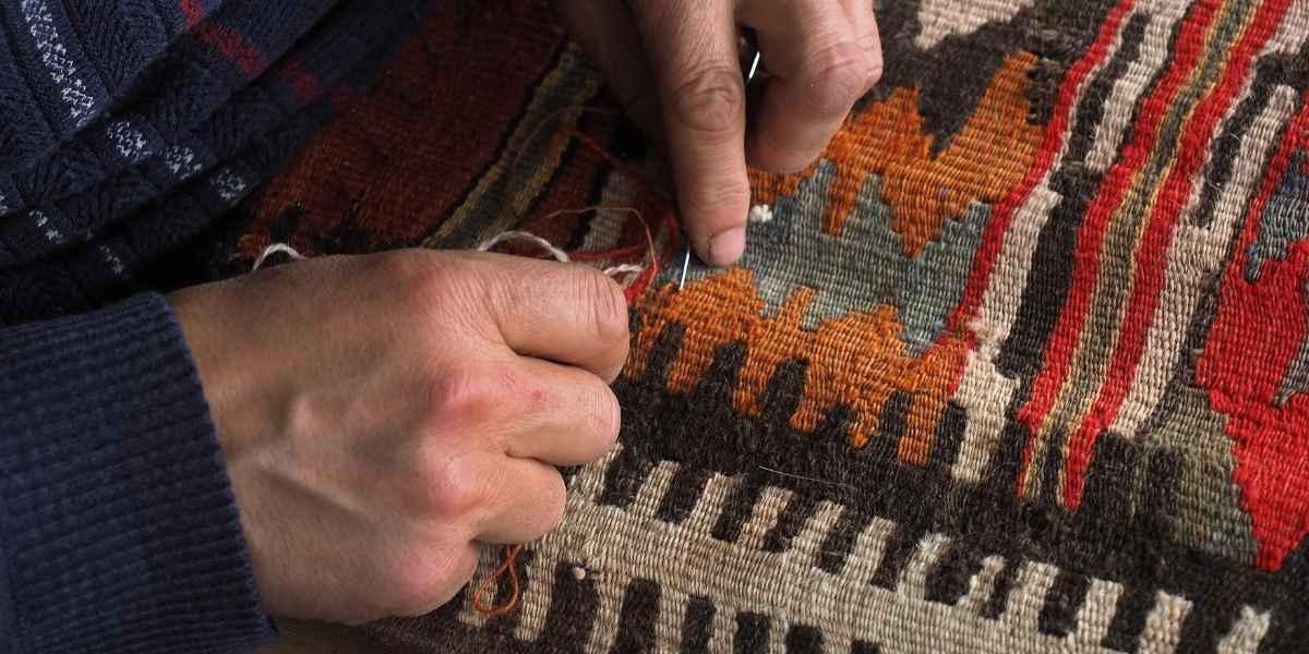 תיקון שטיחים עם מחט